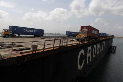 Crowley Barge
