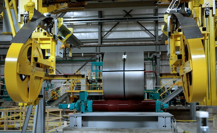Steel Annealing Operations Inside The PRO-TEC Coating Co.